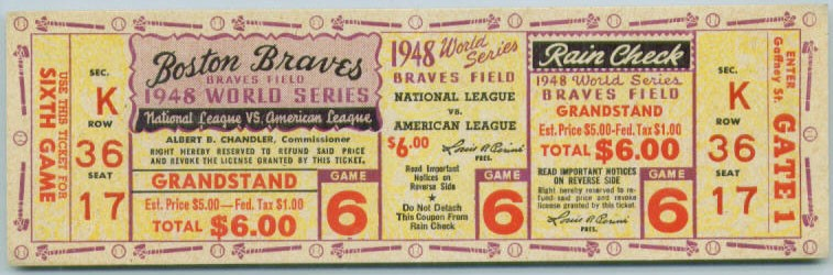 let s see your favorite full tickets or ticket stubs net54baseball